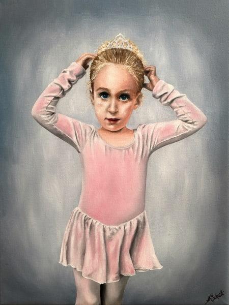 Ready for Dance Class II by Ashley Koebrick Schmidt