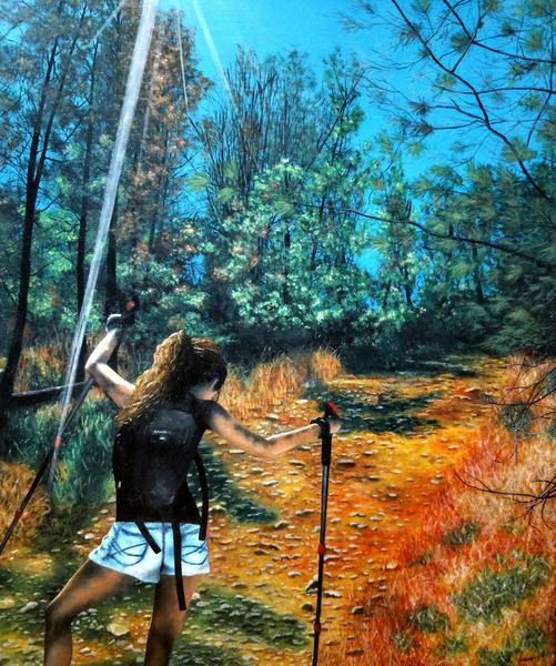 Uphill by Ashley Koebrick Schmidt