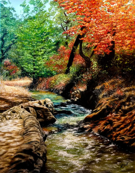 Winding Creek by Ashley Koebrick Schmidt
