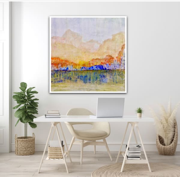 Blue Canyon Home Office Art | Studio Artistica