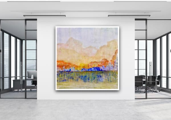 Blue Canyon Corporate Office Art | Studio Artistica