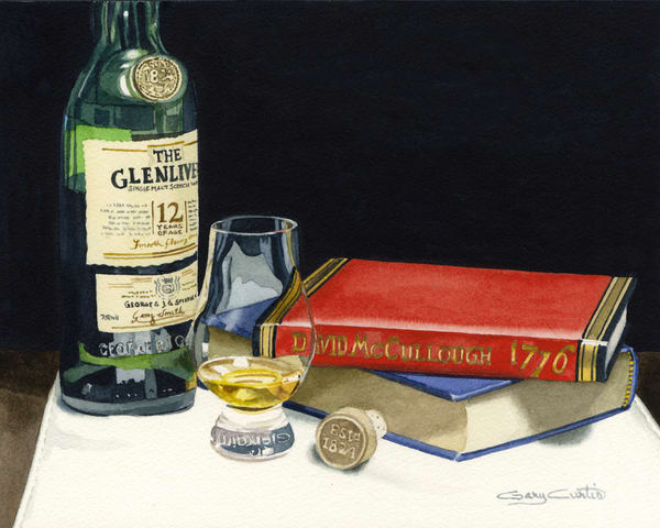 Glenlivet Art | Gary Curtis Watercolors