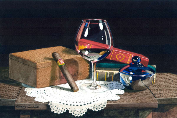 Hand Made Art | Gary Curtis Watercolors