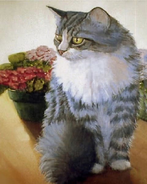 "Pet Portraits, 16'x20"" Original Oil Painting"