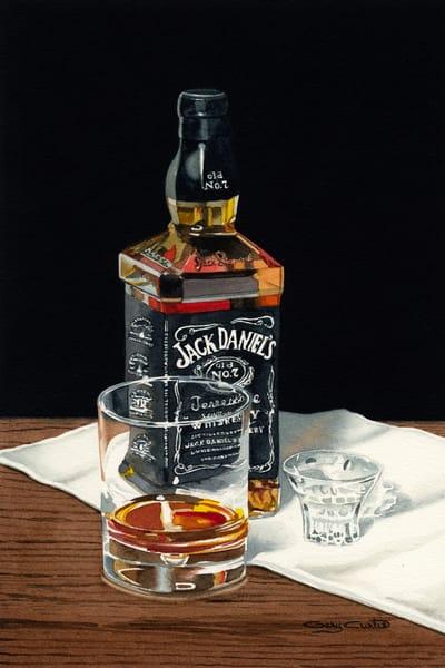 Jack Is Back Art   Gary Curtis Watercolors