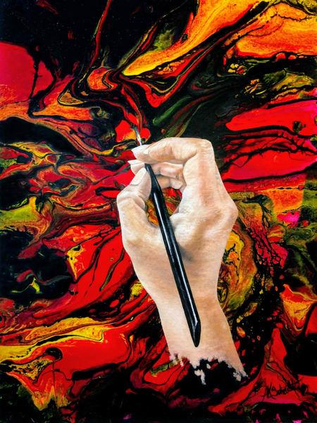 Artlife Painting by Ashley Koebrick Schmidt
