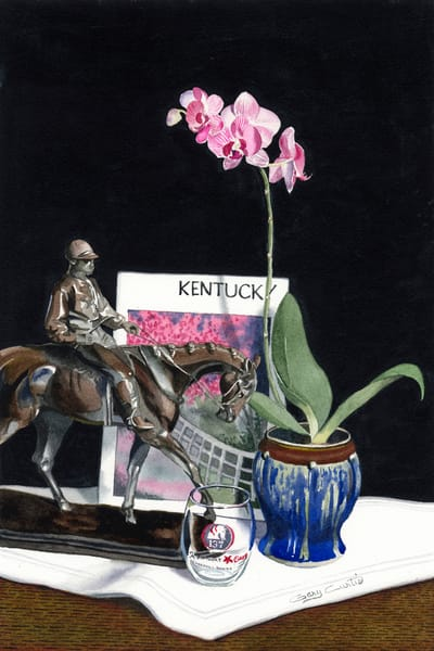 Kentucky Oaks Art | Gary Curtis Watercolors
