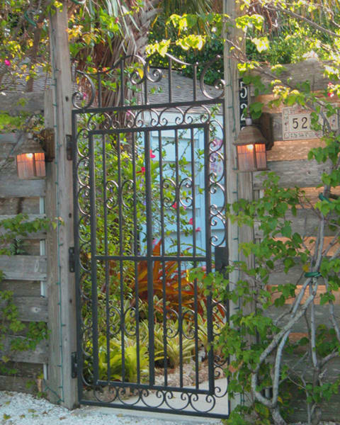 Garden Gate Photography Art | It's Your World - Enjoy!