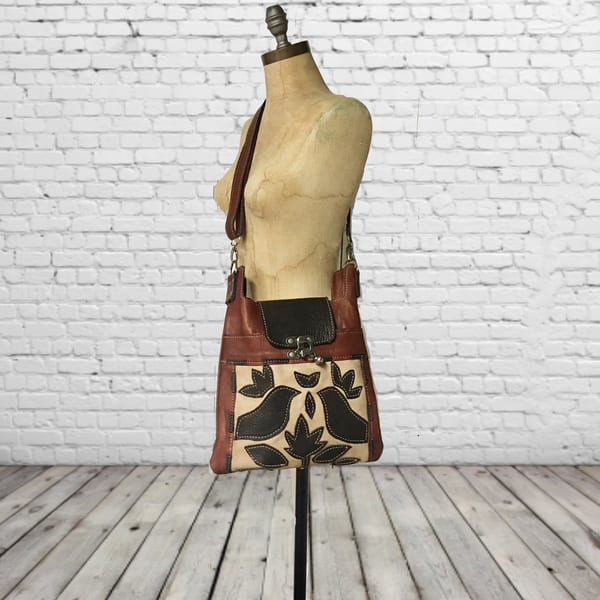 medium leather crossbody purse