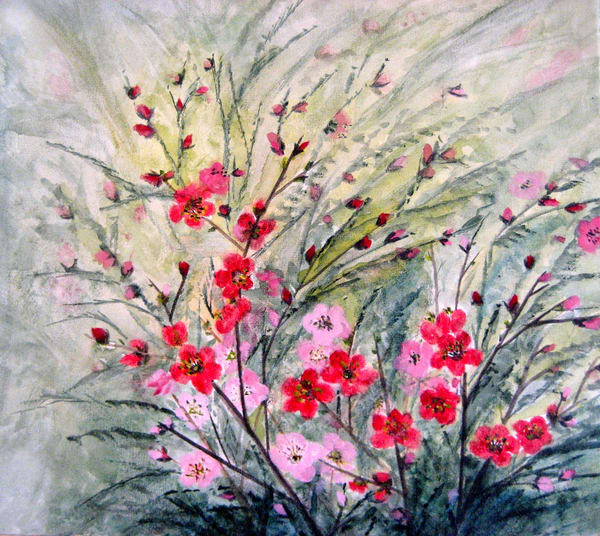 Plum Blossoms Art | donnadacuti