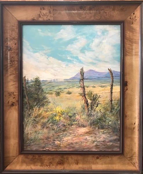 Lindy Cook Severns Art | Open For Rain, original oil