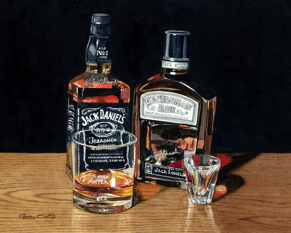Pair Of Jacks Art | Gary Curtis Watercolors