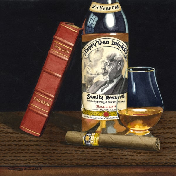 Pappy 23 Art   Gary Curtis Watercolors