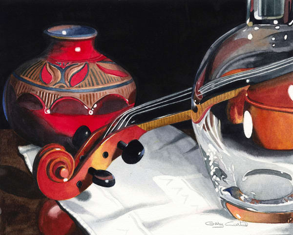 Recital Art | Gary Curtis Watercolors
