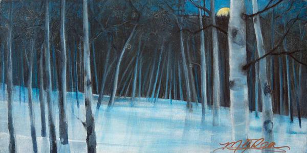 Winter Serenity  Art   Marilyn Rea Nasky Art