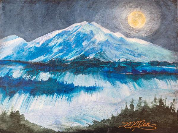 First Snow Art   Marilyn Rea Nasky Art