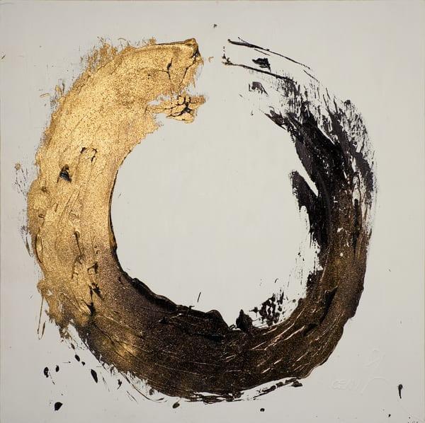 Gold Circle Art | Asaph Maurer