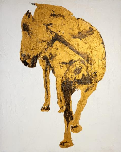 Gold Horse Art | Asaph Maurer
