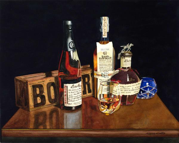 The Three B S Art | Gary Curtis Watercolors