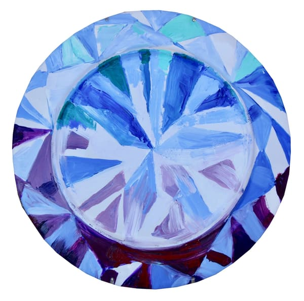 'Matarisvan' Round Cut Diamond  Art   Cool Art House - online art gallery with hip emerging artists. Collect cool art you can view on your own wall before you invest!