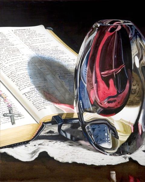 Through A Glass Darkly Art | Gary Curtis Watercolors