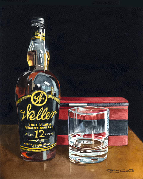 Weller 12 Art | Gary Curtis Watercolors