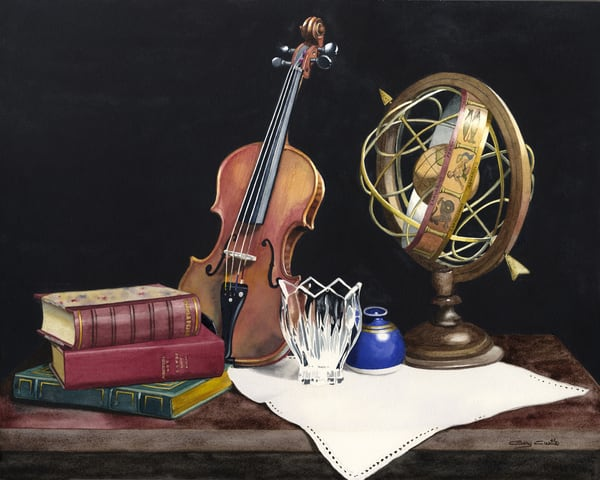 World Of Music Art | Gary Curtis Watercolors