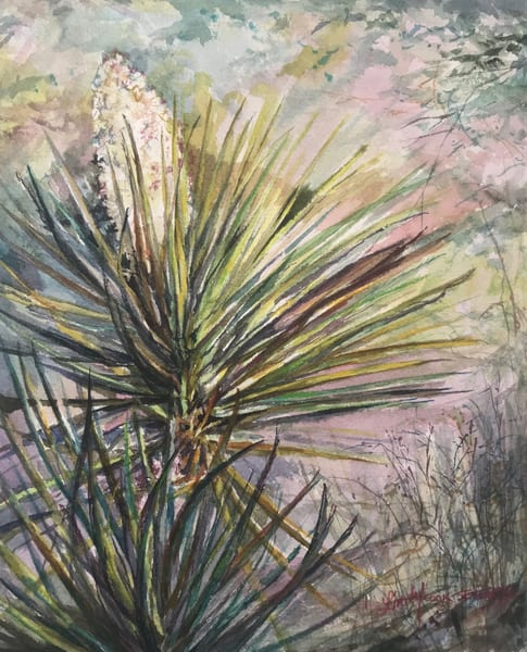 Lindy Cook Severns Art | Pockets of Spring, original watercolor