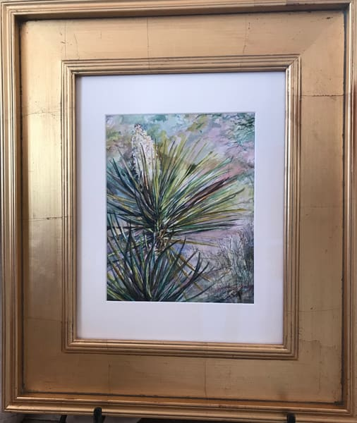 Lindy Cook Severns Art | Pockets of Spring, original watercolor