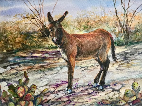 Lindy Cook Severns Art | Rio Burro, original watercolor