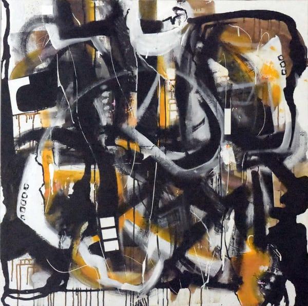 Mardi De Veuve Alexis Ethnic Neighborhood Painting On Canvas 36 X 36 14 Art   MardisArt