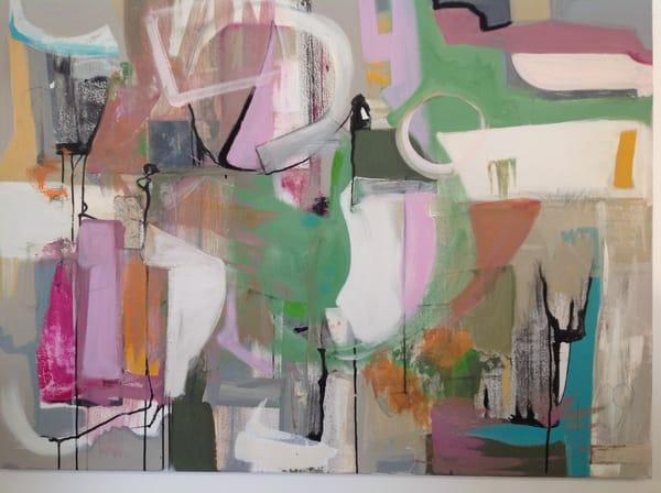 De Veueve Alexis Santa Fe Cool 38 X 50  Mixed Media On Canvas Art   MardisArt