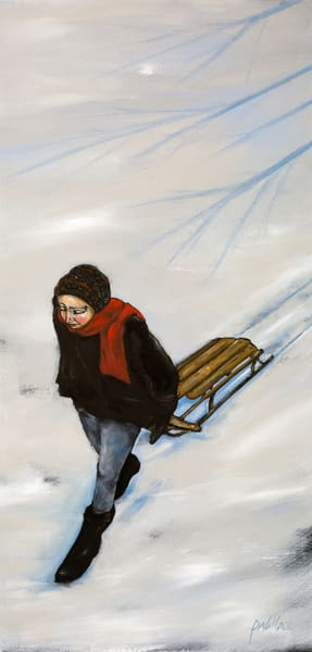 Going Home After Sledding