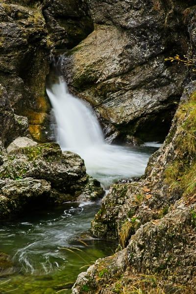 Kuhlflucht Falls II - A Fine Art Photograph by Marcos R. Quintana