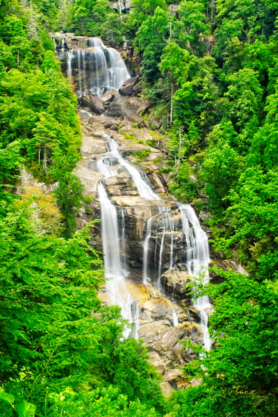 Whitewater Falls I  - A Fine Art Photograph by Marcos R. Quintana