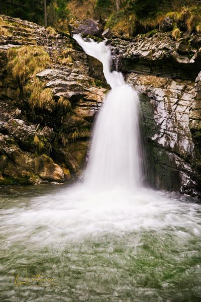 Kuhflucht Falls I - A Fine Art Photograph by Marcos R. Quintana