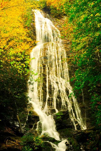 Mingo Falls II  - A Fine Art Photograph by Marcos R. Quintana