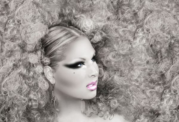 Roxxxy Andrews. Haired Photography Art   Kristofer Reynolds Photography