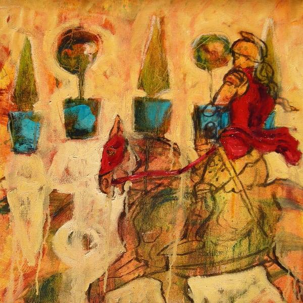 Joanof Arc Versailles Print Art | Joan Cox Art