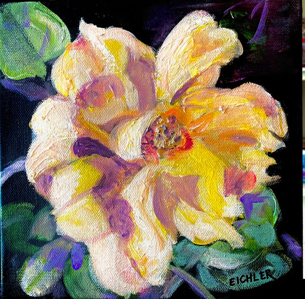 "Sold!  Candy's Rose Art | C.A.S.H. Art ""all things artistic"""