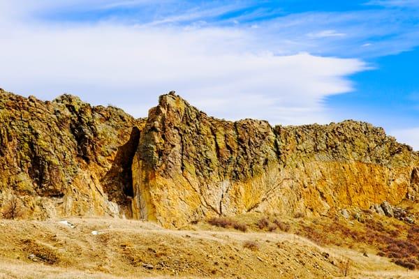 Golden Ridge - A Fine Art Photograph by Marcos R. Quintana