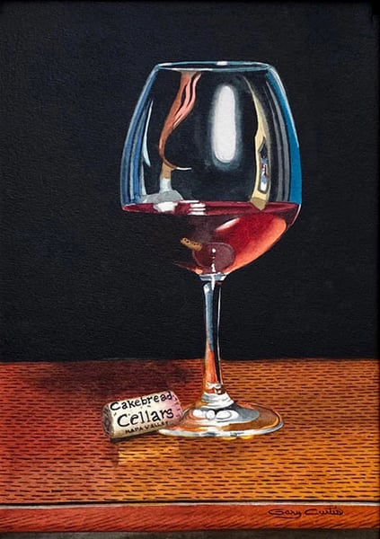 Cakebread Art | Gary Curtis Watercolors