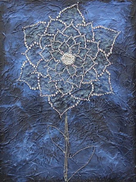 Midnight Flower by Jasmine Virginia | SavvyArt Market