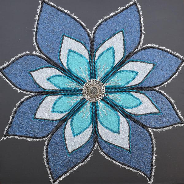 Electric Bloom by Jasmine Virginia | SavvyArt Market