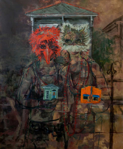 New American Gothic Art | Joan Cox Art