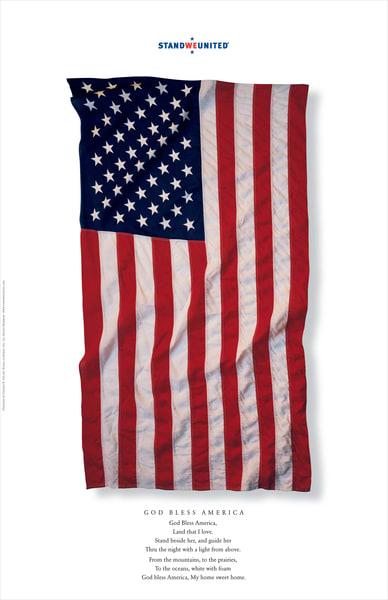 American Revival God Bless America Poster