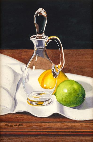 Lemon & Lime Art | Gary Curtis Watercolors