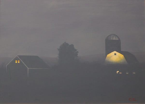Farm Pre Dawn Art | David R. Prentice