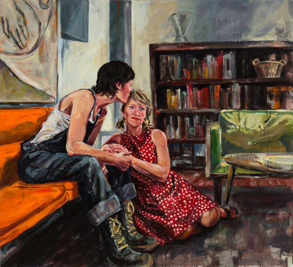 Love Is Everything They Said It Would Be Art | Joan Cox Art
