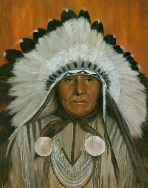 *Chief Bears Arm Art | Tarryl Fine Art